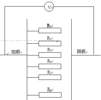 大型生产线上产品连接电路简化图